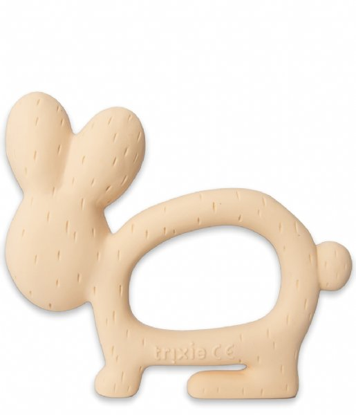 Trixie Baby Accessoire Natural rubber grasping toy Mrs. Rabbit Mrs. Rabbit