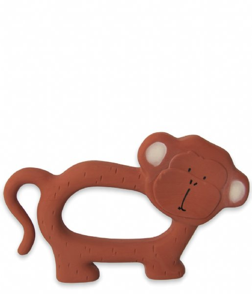 Trixie Baby Accessoire Natural rubber grasping toy Mr. Monkey Mr. Monkey