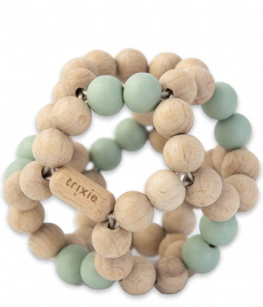 Trixie Baby Accessoire Wooden beads ball Mint Mint