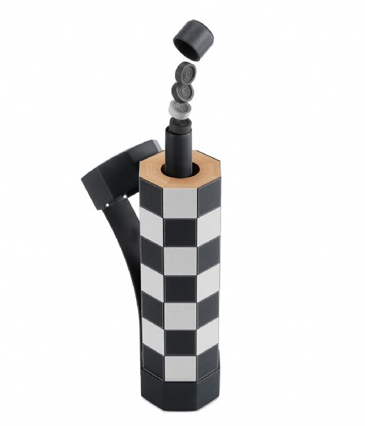 Umbra Gadget Rolz Chess/Checkers Set Black (040)