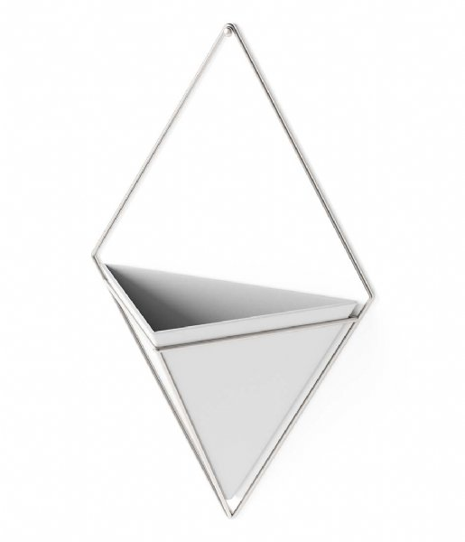 Umbra Decoratief object Trigg Wall Display Large White Nickel(670)