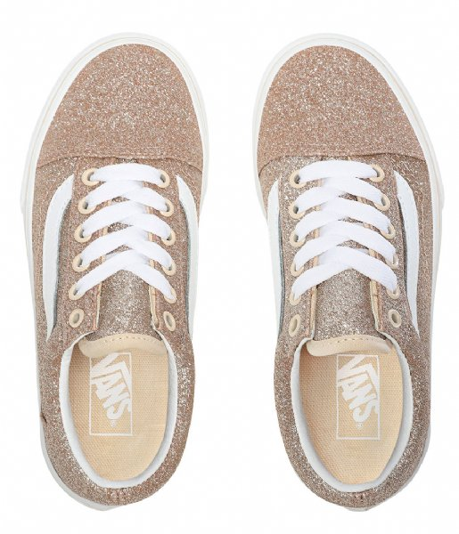 Vans Sneakers Old Skool Glitter Brazln Sand true white