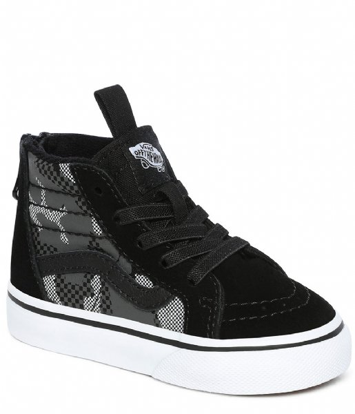 Vans Sneakers SK8-Hi Zip Pattern Camo Black white