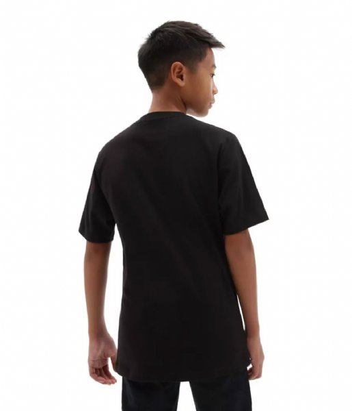 Vans T-shirt By Of The Wall Boys Black/white