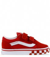 Vans Old Skool V Bumper Chili Pepper True White