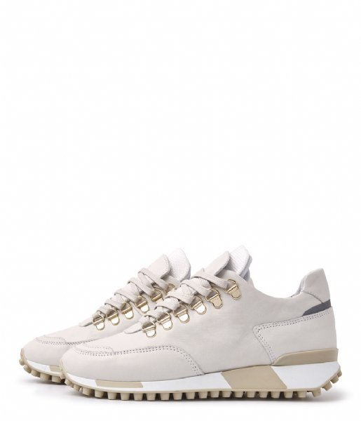 VIA VAI Sneakers Giulia Bold Vitello Mushroom