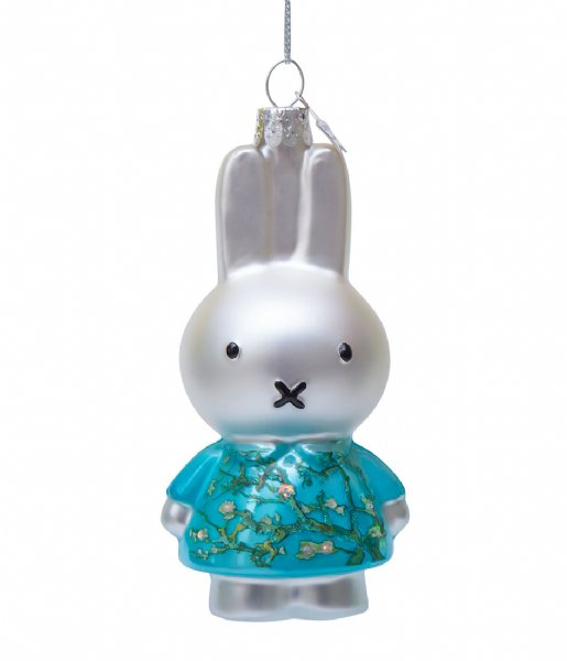Vondels Kerstversiering Ornament Miffy Van Gogh Blossom Dress 11 cm Almond