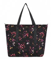 Wouf Tulips Recycled Weekend Bag Black
