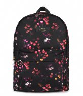 Wouf Tulips Recycled Backpack Black
